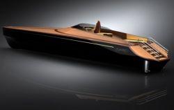 Luxusyacht aus Holz - Sea King