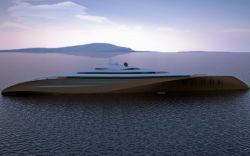 Emocean zeigt 200m Gigayacht Design
