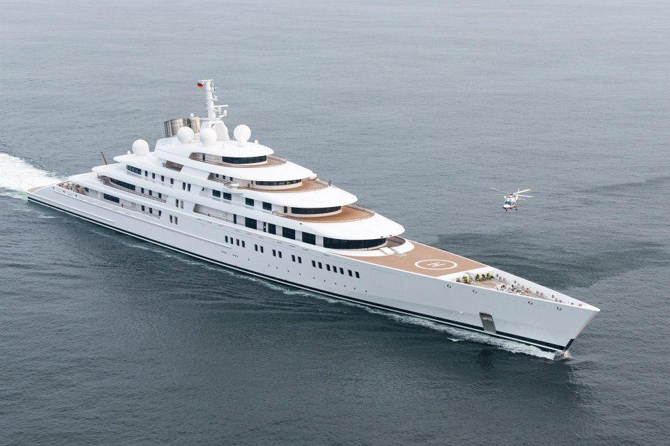 Längste Yacht Der Welt