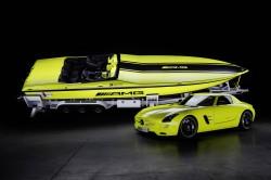 Vom Sportler ins Powerboat: AMG-Elektroantrieb für Speedboot