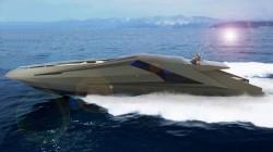 Lamborghini auf dem Wasser von Mauro Lecchi