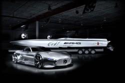 Miami Boat Show: Mercedes & Cigarette zeigen ihre Visions