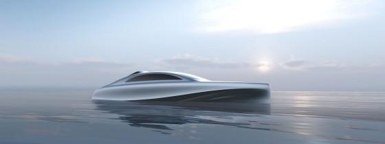 Mercedes-Benz bringt Luxus-Boot Silver Arrow Marine