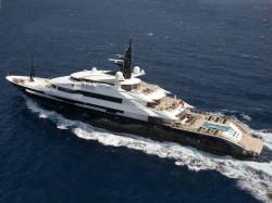 Steven Spielbergs Yacht Seven Seas zum Chartern