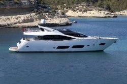 Sunseeker 28 Meter Yacht